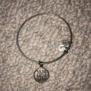 Alex and ani New York Mets bracelet
